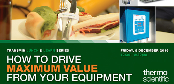 FREE Lunch & Learn - Thermo Scientific Equipment