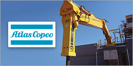 Transmin Switches to Atlas Copco Hammers for their Rockbreaker Range