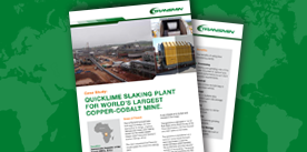 Quicklime Slaking Plant - Africa